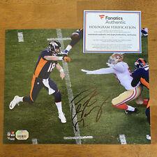Peyton Manning Signed Autographed 8x10 Photo Picture Fanatics COA Broncos Colts