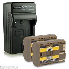 2 batteria BP511 E CARICABATTERIA EOS 5D 50D 10D 20D 30D 40D 300D D10 D30 D60
