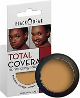 Black Opal Total Coverage Concealing Foundation, Truly Topaz 0.40 oz (Pack of 2)