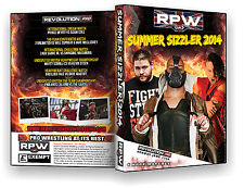 Official RPW - Summer Sizzler 2014 Event DVD (Steen, Devitt, Sabre Jr, Nakamura)
