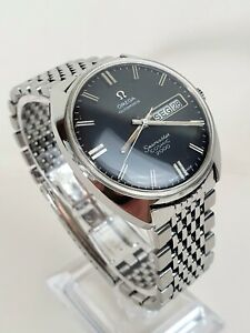 Outstanding 1970 Vintage Omega Seamaster Cosmic Day Date Automatic Ref.166.036