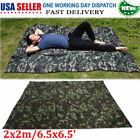 Camouflage Outdoor Tent Shelter Rainproof Mat RainTent Tarp Lightweight