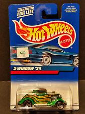 2000 Hot Wheels #132 - 3-Window '34 - 27099