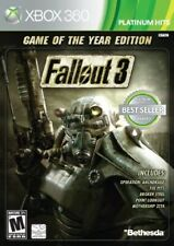 XBOX 360 GAME FALLOUT 3 GAME OF THE YEAR EDITION GOTY SEALED NEVER OPENED