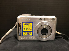 Sony Cyber-Shot DSC-S700 7.2MP Silver Digital Camera