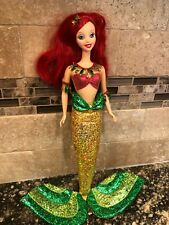 Vintage 2001 Disney Ariel Limited Edition Seaside Holiday Ariel Doll Pre Owned