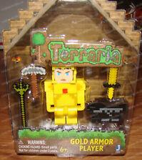 Terraria, Gold Armor Player (by Jazwares, 13601) Selfless hero in shining armor