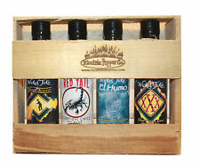 Hot Sauce Gift Set Ghost Pepper Trinidad Moruga Scorpion Gift Pack Best Deal