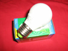 10 LAMPADINE BASSO CONSUMO MINI GLOBO SFERA E27 11 WATT BIANCO FREDDA LAMPADA