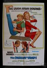 THE PARENT TRAP * 1SH ORIG MOVIE POSTER 1968R DISNEY