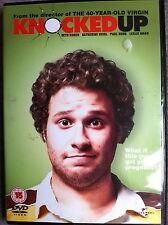 Seth Rogen Katherine Heigl KNOCKED UP Hilarious 2007 Comedy Extended UK DVD