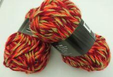 10 pelotes de  grosse  laine   trés douce couleur tweed   /  fabriqué en France