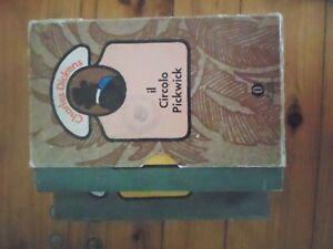 cofanetto libro il circolo pickwick charles dickens