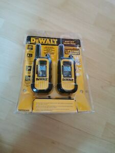 DeWalt DXFRS300 Heavy Duty Tough Professional Walkie Talkie Radio 22 Channels