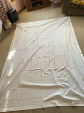 Antique Italian Cutwork Hand Embroidered Tablecloth & 12 Napkins (Oblong)