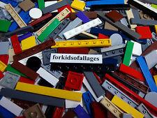 50 Bulk Lego TILES 100% Smooth Flat Finishing Plates Modular House Floor Roof