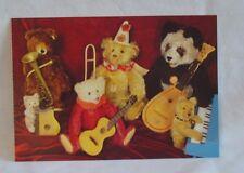 Steiff - Steiff Teddy Bear Band Postcard