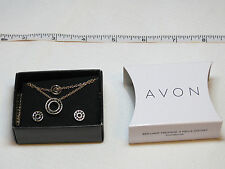 Ladies Womens Avon Brilliant Prestige 3 Piece Gift Set goldtone F3982621 NIP;;