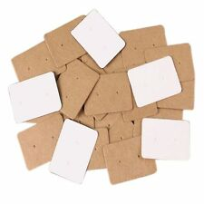 Cardboard Paper Cards Ear Studs Hanging Cards Display Cards Earring Holder
