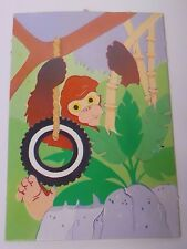 VINTAGE! 1984 Fisher Price Play Family Replacement Part-Zoo Gorilla Litho