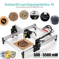 5500mw Desktop DIY L aser Graviermaschine Gravurmaschine Engraving Drucker O5T0