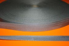 SANGLE RUBAN Gros Grain GRIS 25 mm pour vos loisirs créatifs Vendu aux Mètres