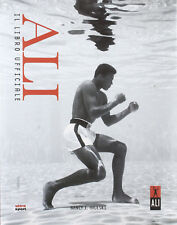 ALI' il libro ufficiale Muhammad Cassius Clay boxe Pugile Vietnam sport BOOK ill