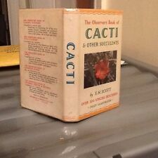 Observers Book Of Cacti 1962