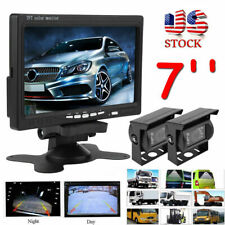 7In TFT LCD Car Rear View Monitor + Backup Reverse Parking Camera Night Vision
