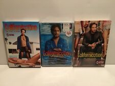 Californication Season One Open - Two And Three Sealed! 1 & 2 & 3 (DVD, 6 Disc)
