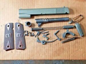 Springfield Armory 1911 A1 .45 Slide, Barrel, Hammer, Trigger, LP Lot