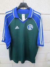 VINTAGE Maillot SCHALKE 04 ADIDAS stock pro Equipment trikot rare shirt L S04