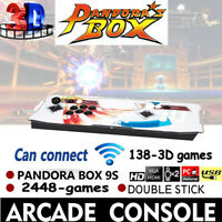 Pandora Box 9S In 1 Retro Video Games Double Stick Arcade Console Support wifi