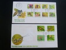 Singapore Stamps First Day Cover FDC -1985 INSECTS High Value (Set of 2 )