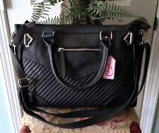 Candie's Handbag Satchel, Black, NWT $60