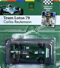 LOTUS 79 CARLOS REUTEMANN #2 1:43 Scale F1 Racing Model Formula One