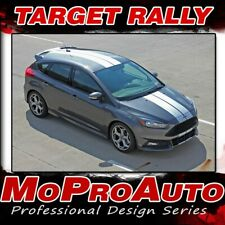 2016 2017 2018 Ford Focus TARGET RALLY Racing Stripes Decals Vinyl Graphics Kit
