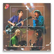 Austria 2003 The Rolling Stones Miniature Sheet Mint Unhinged MUH