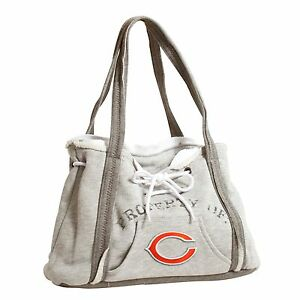 Ladies Embroidered Hoodie Purse Handbag - Chicago Bears - NFL