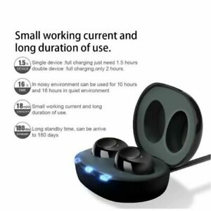 Hearing Aid Invisible Digital In-Ear Enhancer Sound Voice Amplifier Rechargeable