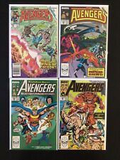 4 Issue Lot - Avengers 263, 299, 302, 307 X-Factor Inferno