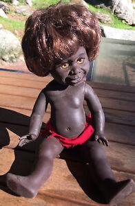 Vintage Aboriginal Indigenous Metti Netta Doll 33cm