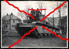 Foto-Panzer-Neubaufahrzeug Nr.10-Lillehammer-Norwegen-1940-Weserübung -2