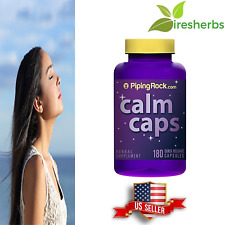 CALM CAPS RELAX 1300MG DEPRESSION RELAXATION SLEEP AID SUPPLEMENT 180 CAPSULES