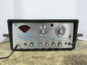 Vintage 1970's Peterson Model 520 Audio/Visual Portable Electronic Strobe Tuner