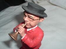 Saratoga Sam The Bugler Bobblehead Call To The Post  Rare Vintage Collectible