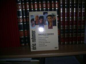 Eric ROHMER  - Comédies et proverbe - COFFRET 6 DVD