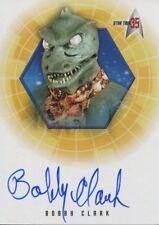 Star Trek 35th Anniversary Holofex Autograph Card A8 Bobby Clark