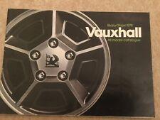 Vauxhall Cars -  Motor Show 1978 Brochure