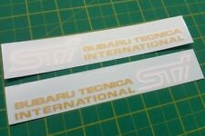 Subaru Impreza GD GG  STI Version 9 Door decals stickers WRX Legacy outback 2000